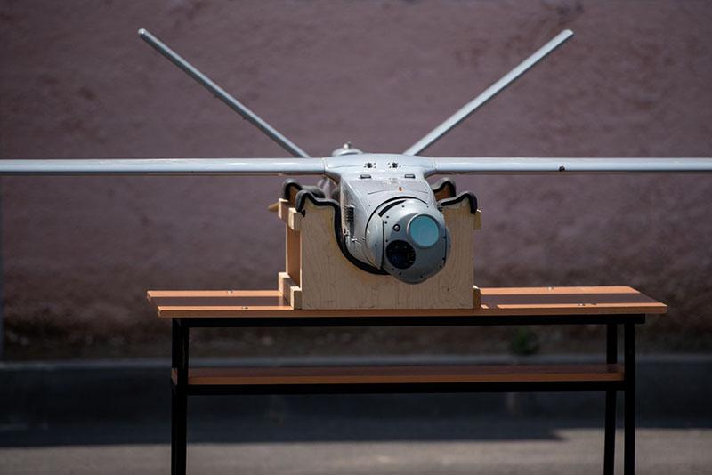 Оптика азербайджанского беспилотника ThunderB