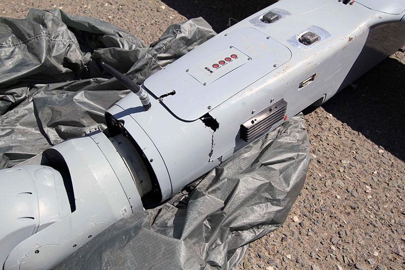 Повреждения беспилотника ThunderB