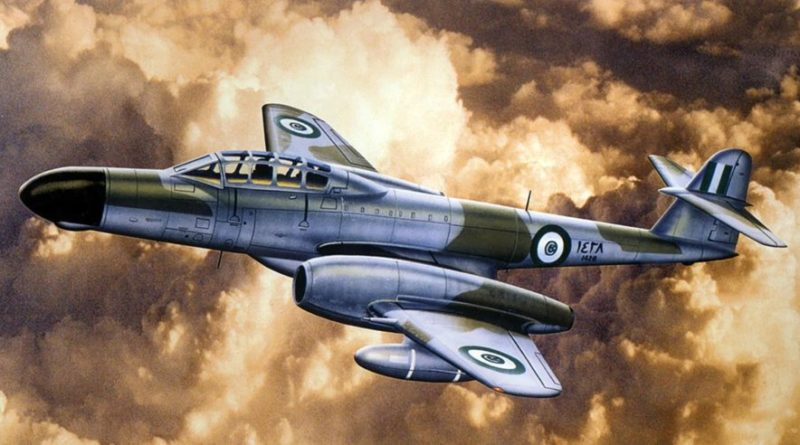 Египетский Gloster Meteor NF-13
