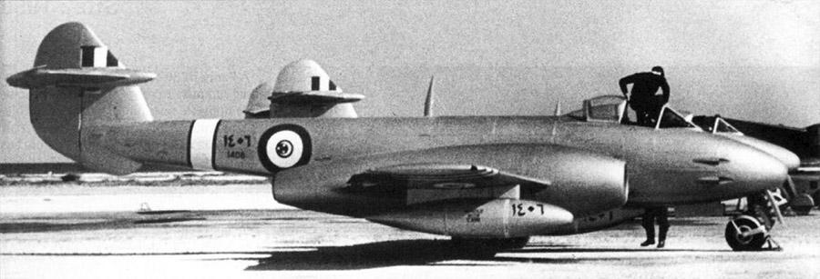 Египетский Gloster Meteor F-4 N1406