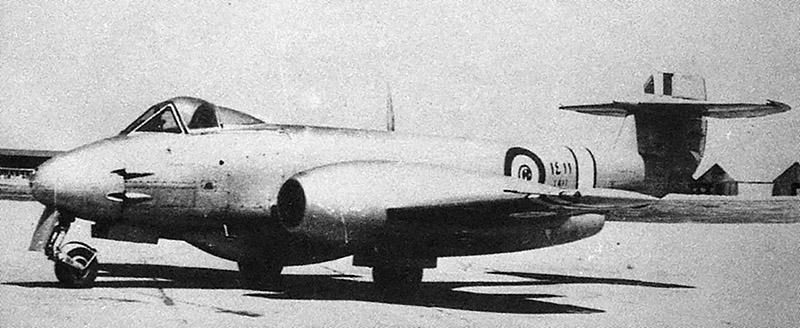 Egypt Meteor F-4 N1411 at Alexandria