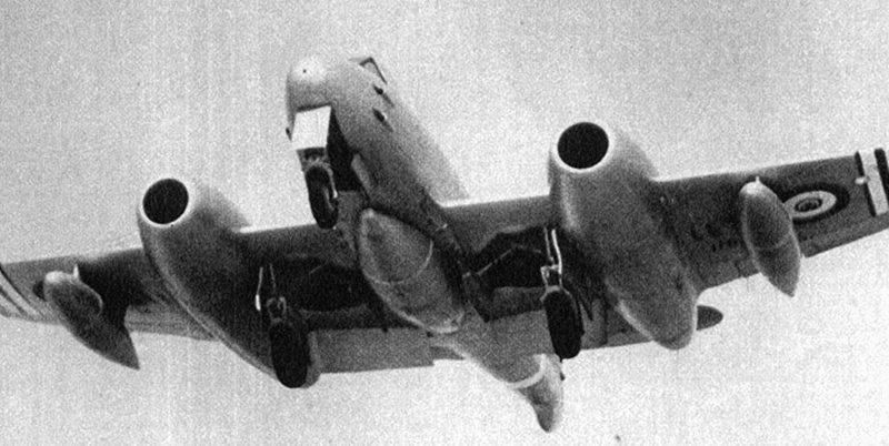 Метеор F-4 ВВС Египта
