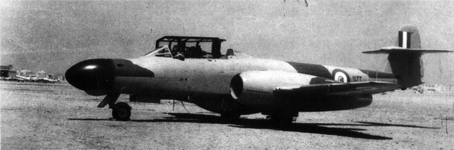 Egyptian Air Force Gloster Meteor NF-13 1432