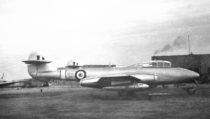 Egypt Gloster Meteor T-7 N1400
