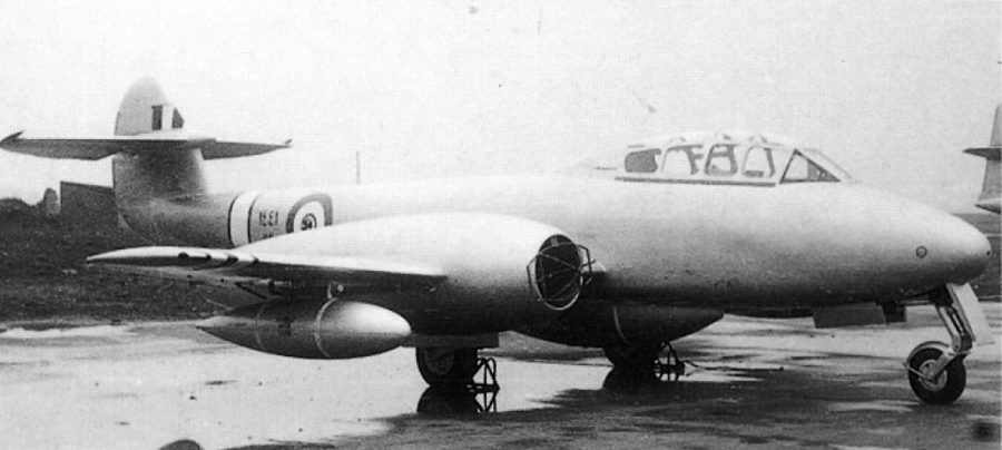 Egyptian Gloster Meteor T-7 N1441
