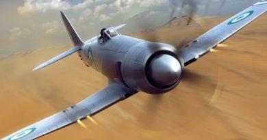 Истребитель Hawker Fury ВВС Египта