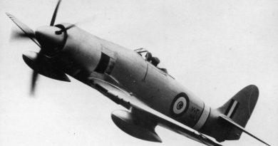 Египетский Hawker Fury N703