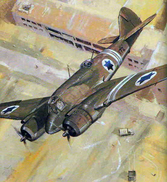 Израильский Bristol Beaufighter
