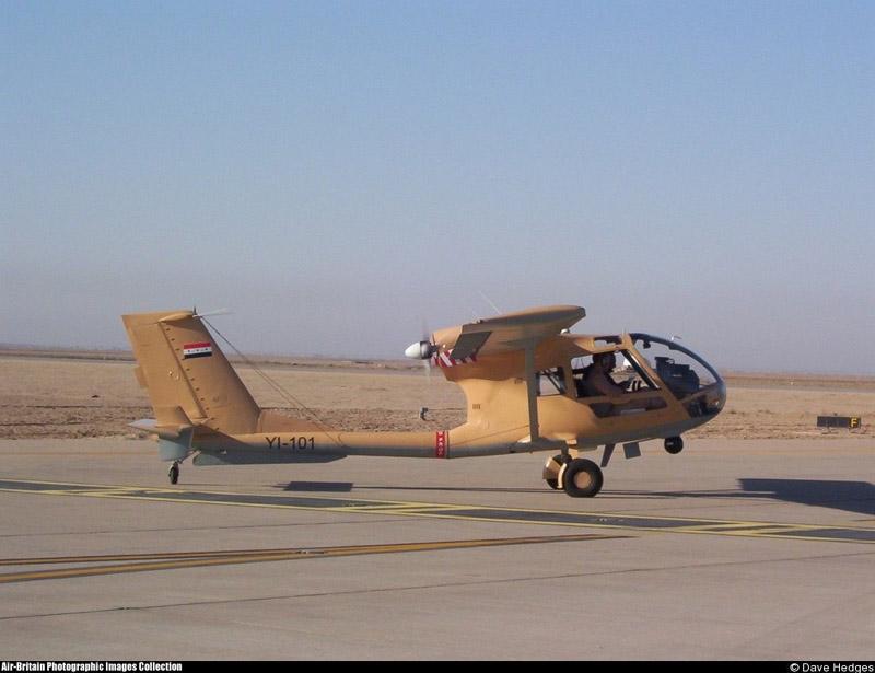 ИракскийSBL7-360 Seeker YI-101 с установленной под фюзеляжем оптической системой