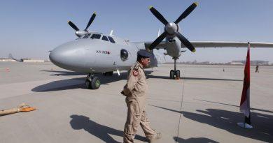 Ан-32Б прибывший в Ирак