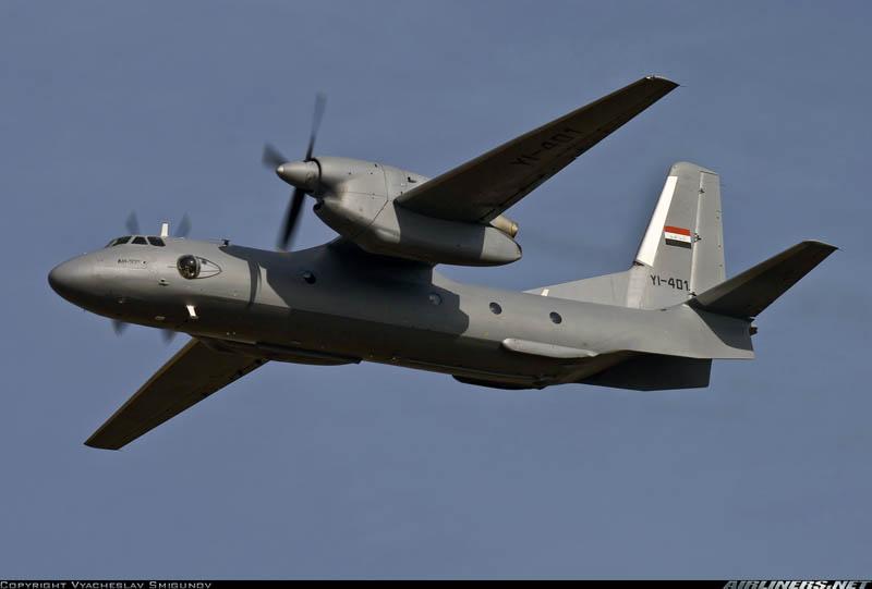 Первый построенный для Ирака Ан-32 так и не попал в страну