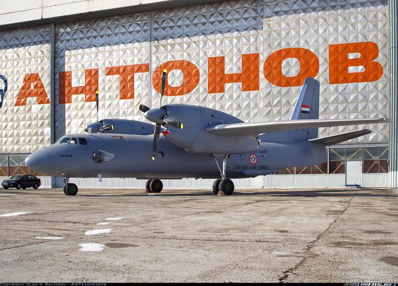 В феврале 2011 первый Ан-32Б подготовили к поставке в Ирак