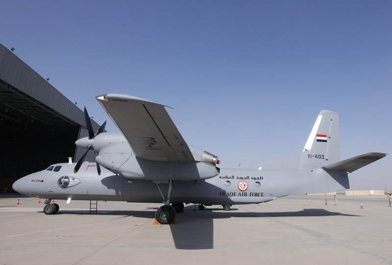Первый Ан-32Б который был реально поставленн в Ирак