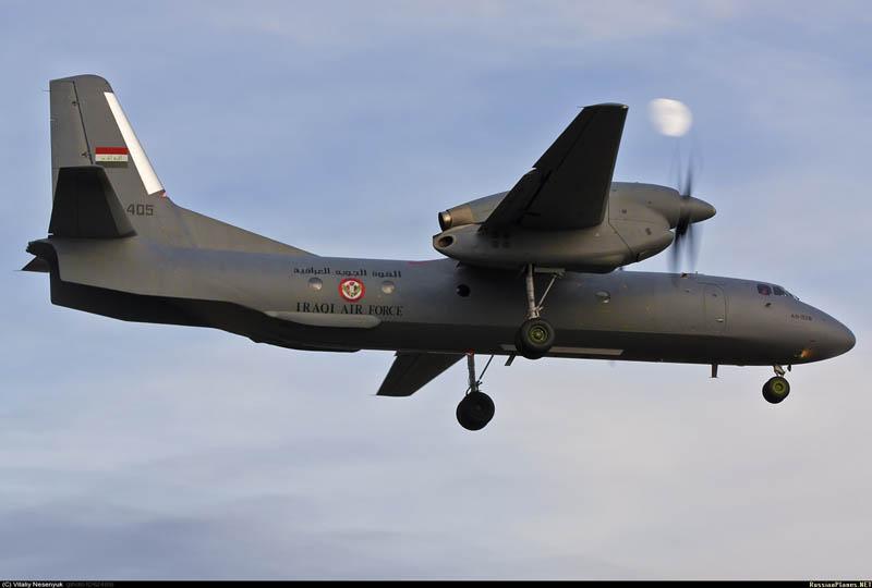 В полете иракский Ан-32Б YI-405