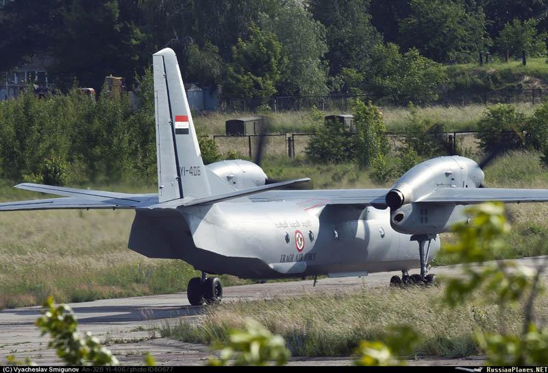 Иракский Ан-32Б YI-406 готовится к взлету