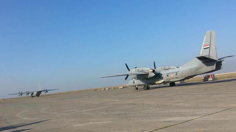 Второй построенный для Ирака Ан-32Б YI-402 в конце-концов заказчик принял