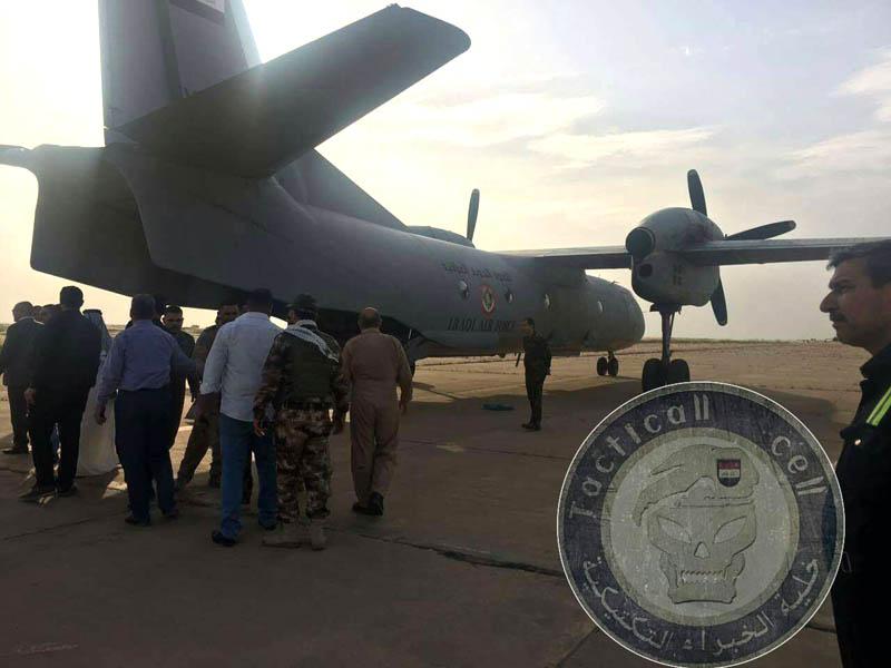 Ан-32Б в Ираке используются для перевозки не только грузов, но и людей