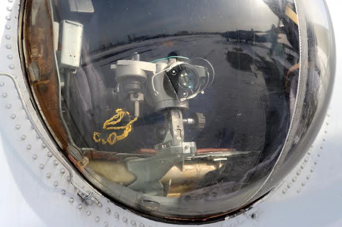 Установленный на Ан-32Б прицел НКПБ-7