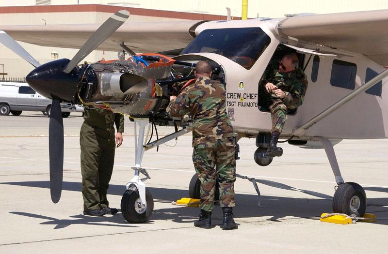 Иракский Comp Air 7SLX на авиабазе Эдвардс в США