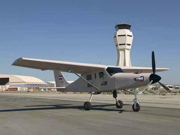 Comp Air 7SLX в на авиабазе в Киркуке.