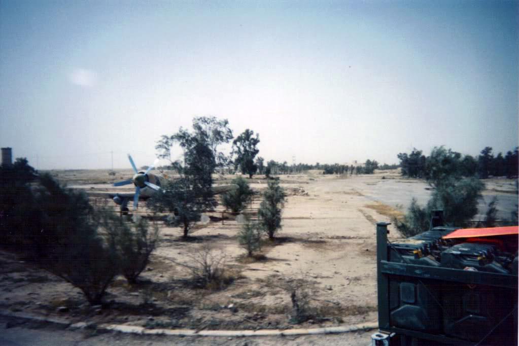 Снятый из проезжающей машины иракский Фьюри в Шайбахе