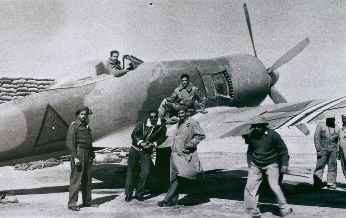 """Иракский """"Багдад Фьюри"""" в Египте во время Палестинской войны 1948-49 годов"""