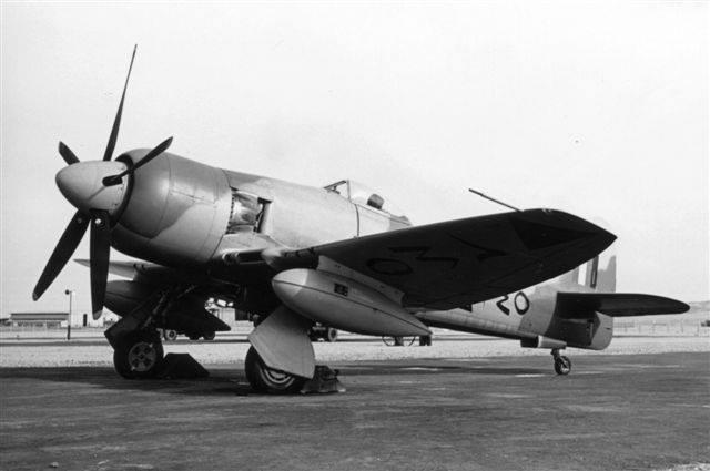Истребитель с бортовым N240
