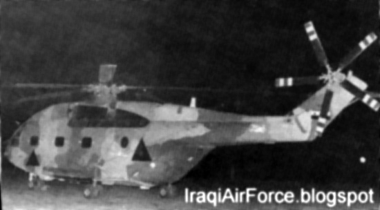 Иракские Супер Фрелон основную часть вылетов производили в ночное время