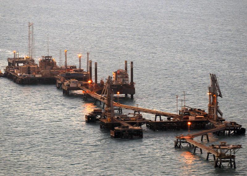 Хор Аль-Амия - иракский нефтетерминал в Персидском заливе