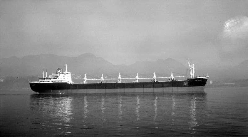 """Балкер """"Al Tajdar"""" - первый корабль пораженный иракским Экзосетом"""