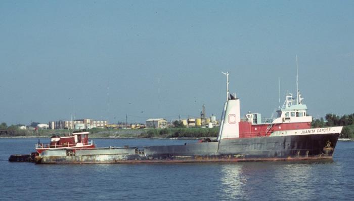 """Южнокорейский корабль снабжения """"Heyang Ilho"""" потопленный иракским Экзосетом"""