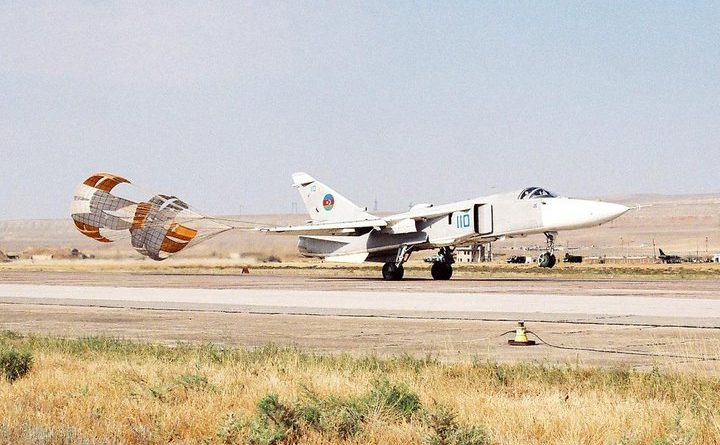 Боевые самолеты ВВС Азербайджана в Карабахской войне