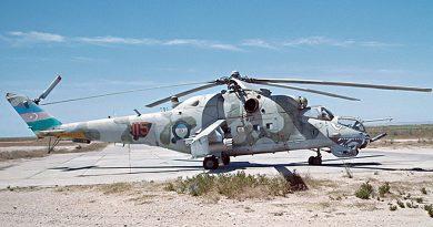 Ми-24В с бортовым 115