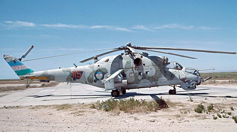 Вертолеты ВВС Азербайджана в Карабахской войне