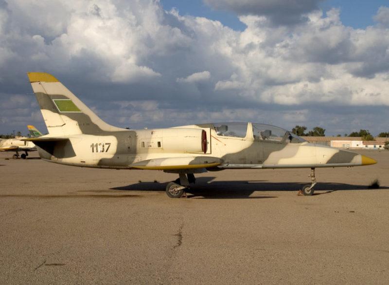 Ливийский Л-39 N1107