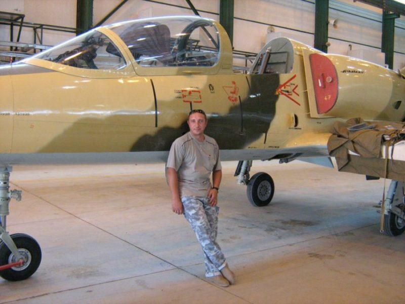 Ливийский Л-39 N1938 на ремонте