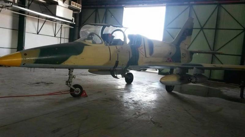 Ливийский Л-39 N1941 в ангаре