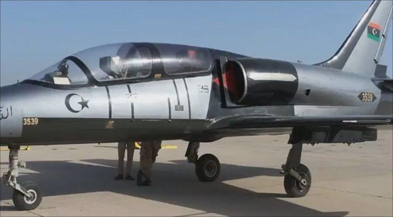 Ливийский Л-39 N3539 авиации ПНС в необычном окрасе