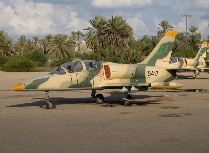 Ливийские Л-39 N9417 и N9429