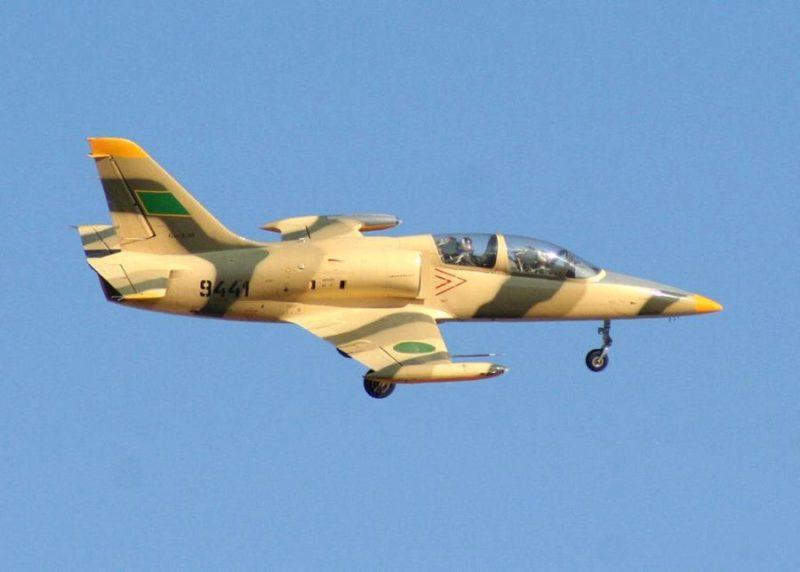 В полете Ливийский Л-39 N9441