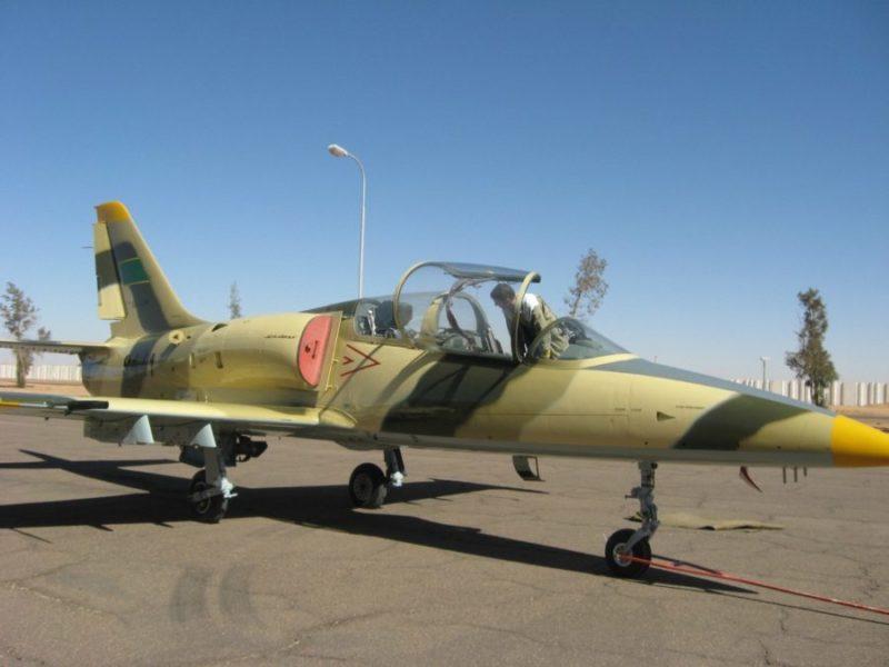 Ливийский Л-39 N9441 перед облетом