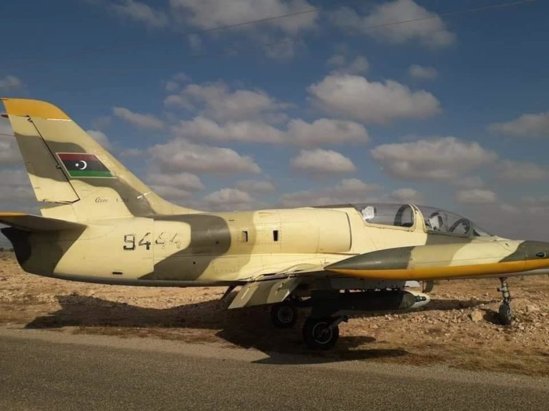 Ливийский Л-39 N944 - вид с правого борта
