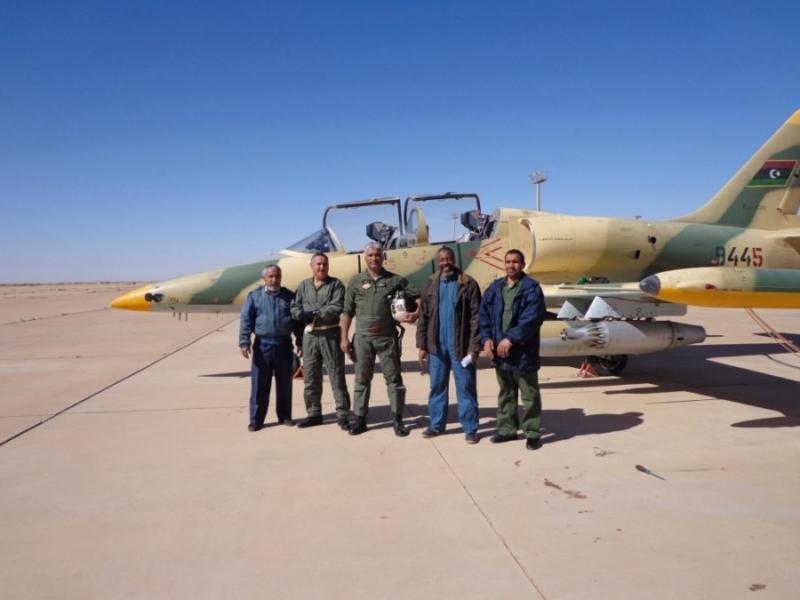 Ливийский Аэро Л-39 N9445
