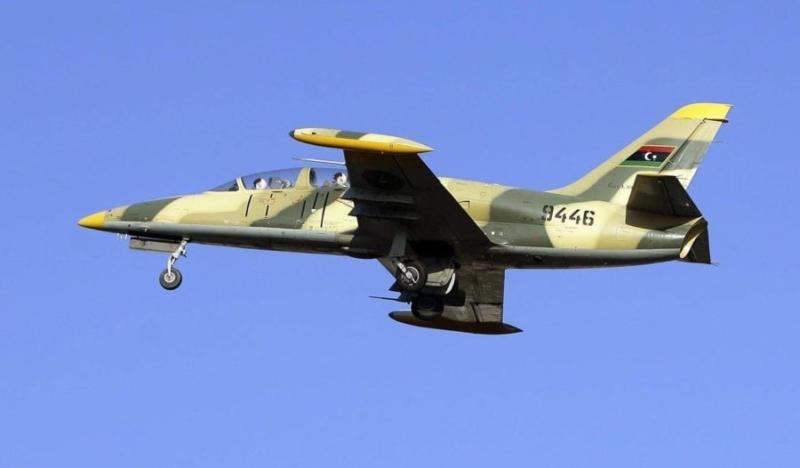 В небе ливийский Л-39 N9446
