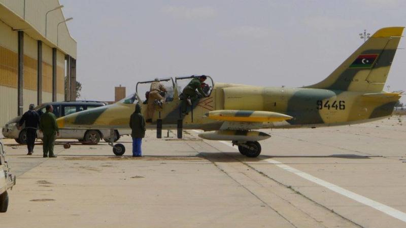 Ливийский Л-39 N9446