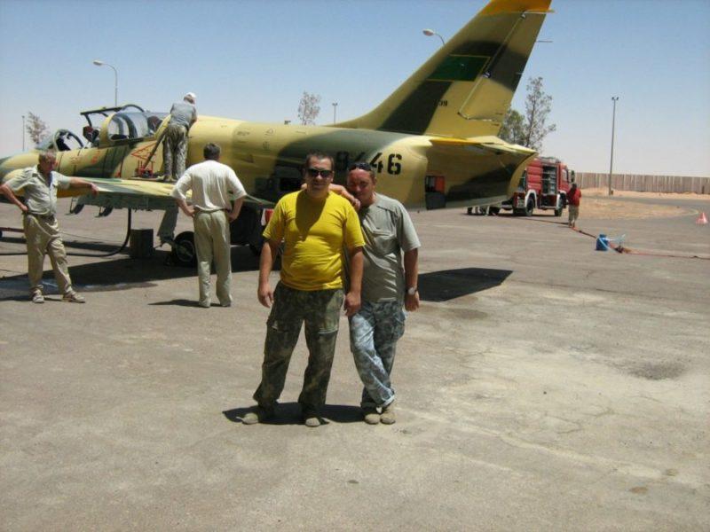Ливийский Л-39 N9446 готовят к полету