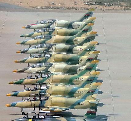 Л-39 ВВС Триполи