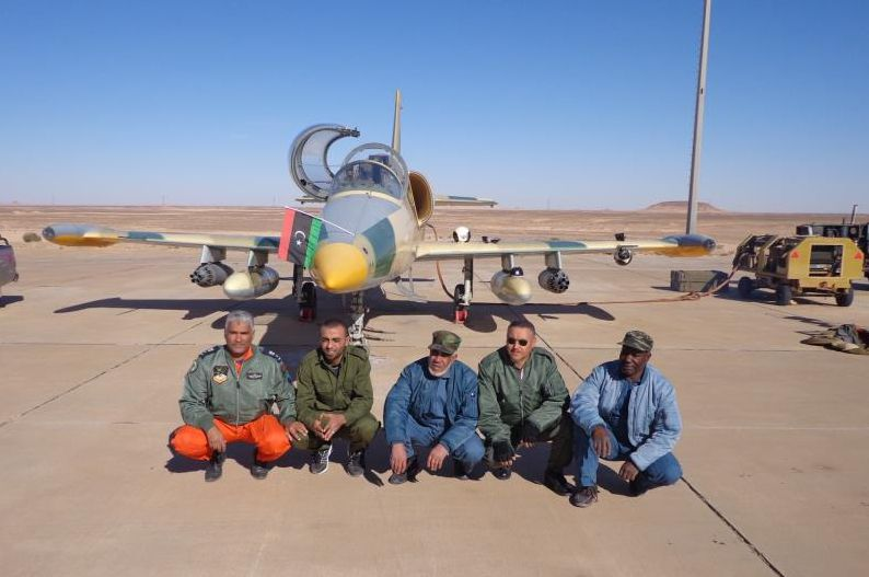 Ливийский Л-39 в стандартном оснащении