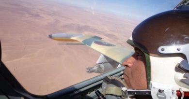 Селфи пилота ливийского Л-39