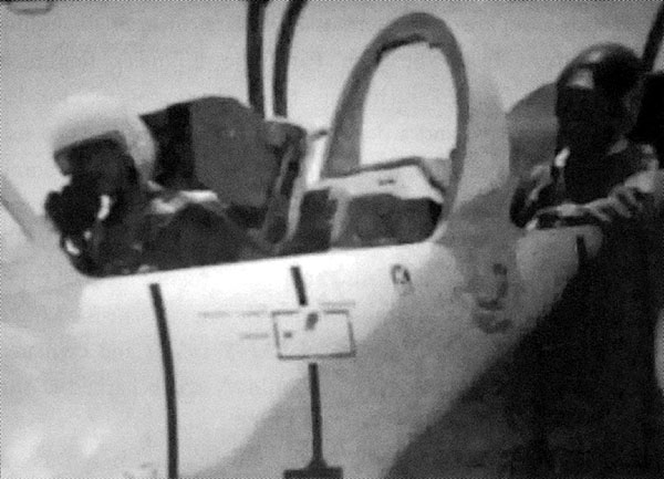Libyan L-39 damaged by Air Defence